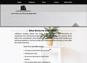 californialendingsource.com