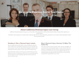 californiapersonalinjurylawgroup.com