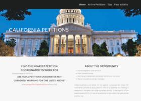 californiapetitions.com