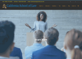 californiaschooloflaw.com
