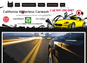 californiawaterlesscarwash.com