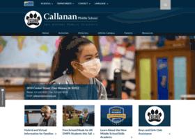 callanan.dmschools.org