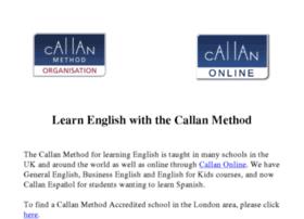callanschoollondon.com