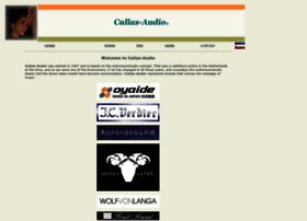 callas-audio.nl