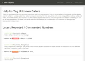 callerregistry.com