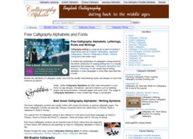 calligraphy-alphabet.com