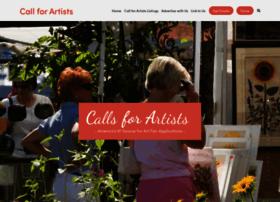 callsforartists.com