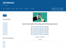callunknown.net