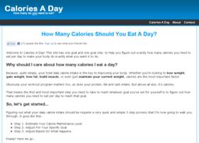 caloriesaday.com