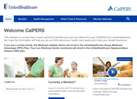 calpers.welcometouhc.com