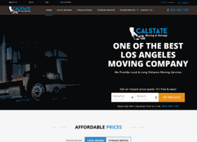 calstatemoving.com