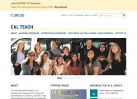 calteach.ucsc.edu