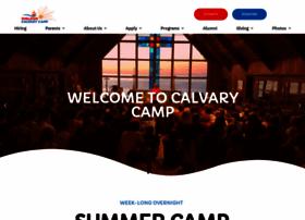 calvarycamp.org