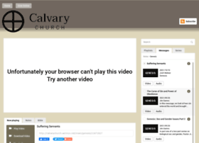 calvarychurch.sermon.tv