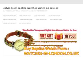 calvin-klein-replica-watches.watchonsale.es