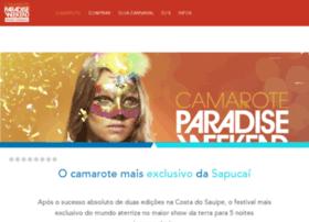 camaroteparadiseweekend.com.br