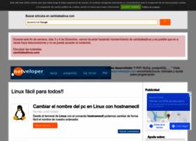 cambiatealinux.com