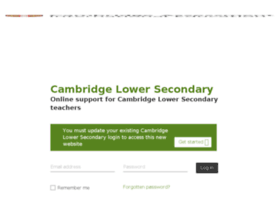 cambridgesecondary1.cie.org.uk