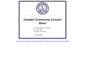 camdencommunityband.org