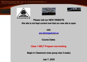 camdrivereducation.ca