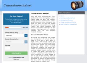 cameralensrental.net