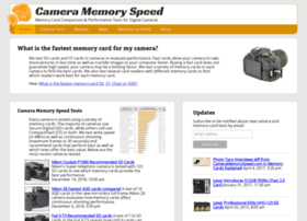 cameramemoryspeed.com