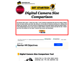 camerasize.com