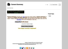 camerasummary.com