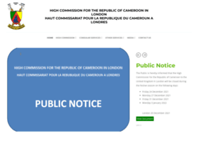cameroonhighcommission.co.uk