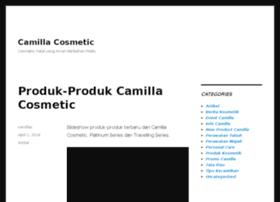 camillacosmetic.com