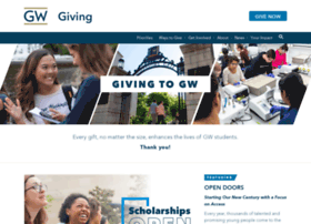 campaign.gwu.edu