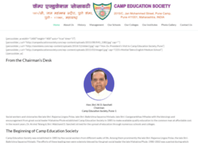 campeducationsociety.com