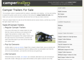 campertrailersforsale.net.au