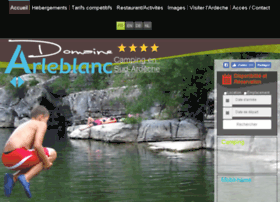 camping-arleblanc-ardeche.fr