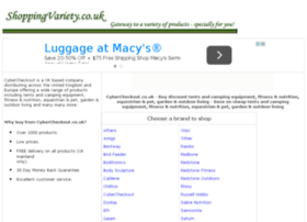camping-equipment-horse-rugs.shoppingvariety.co.uk