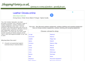 camping-equipment-travel-products.shoppingvariety.co.uk
