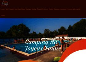 camping-joyeuxfaune.com