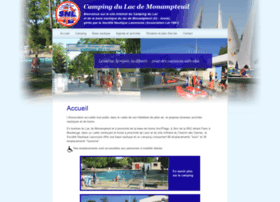 camping-lac-monampteuil.fr