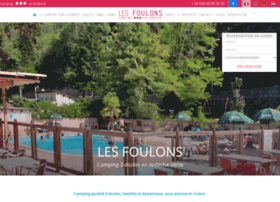 camping-les-foulons.com