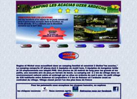 camping-lesacacias.com