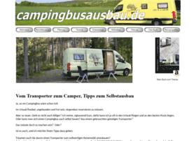 campingbusausbau.de