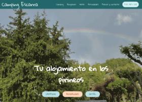 campingescarra.com