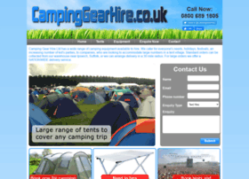 campinggearhire.co.uk