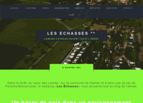 campinglesechasses.com