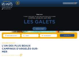 campinglesgalets.fr