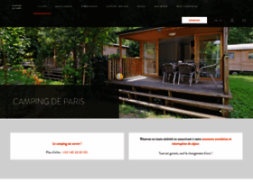 campingparis.fr