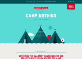 campnothing.goodfornothing.com