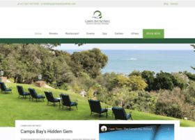 campsbayretreat.com