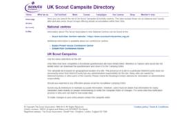 campsites.scouts.org.uk