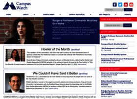 campus-watch.org